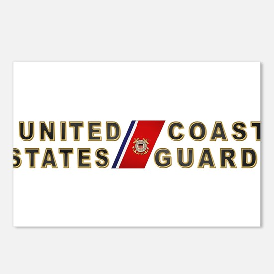 uscg_x.png Postcards (Package of 8)