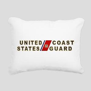 uscg_x Rectangular Canvas Pillow