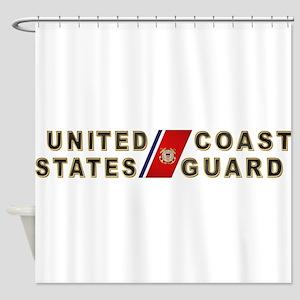 uscg_x Shower Curtain