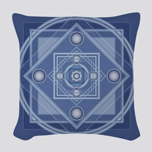 Tibetan_Lrg_Bleed Woven Throw Pillow