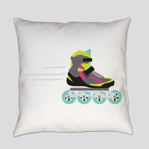 Roller Blade Everyday Pillow