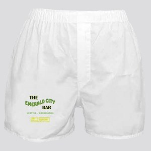 THE EMERALD CITY BAR Boxer Shorts