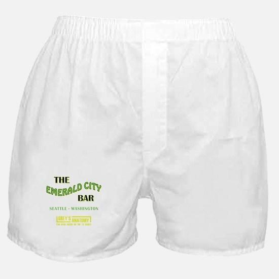THE EMERALD CITY BAR Boxer Shorts
