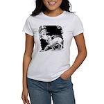 Borzoi and Unicorn<br> Women's T-Shirt