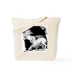 Borzoi and Unicorn<br> Tote Bag