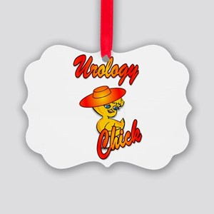 Urology Chick #5 Picture Ornament