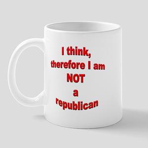 Not a Republican Mug
