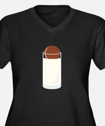 Milk and Cookie Plus Size T-Shirt