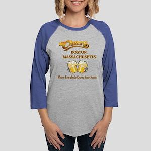 CHEERS BOSTON MASS Long Sleeve T-Shirt