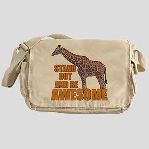 Stand Tall Giraffe Messenger Bag