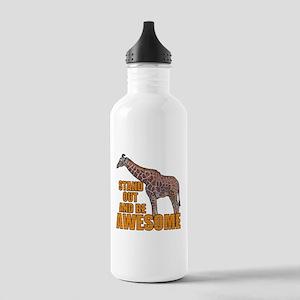 Stand Tall Giraffe Stainless Water Bottle 1.0L