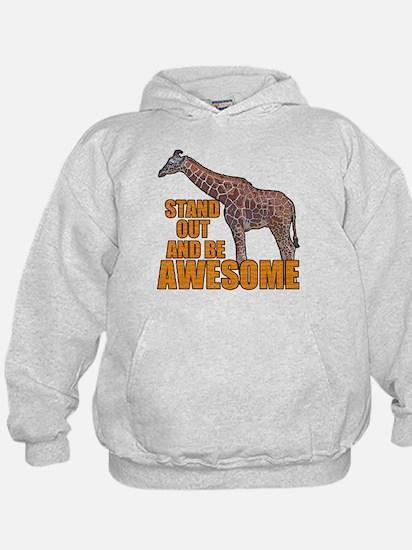 Stand Tall Giraffe Hoodie