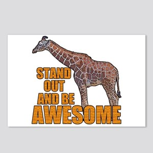Stand Tall Giraffe Postcards (Package of 8)