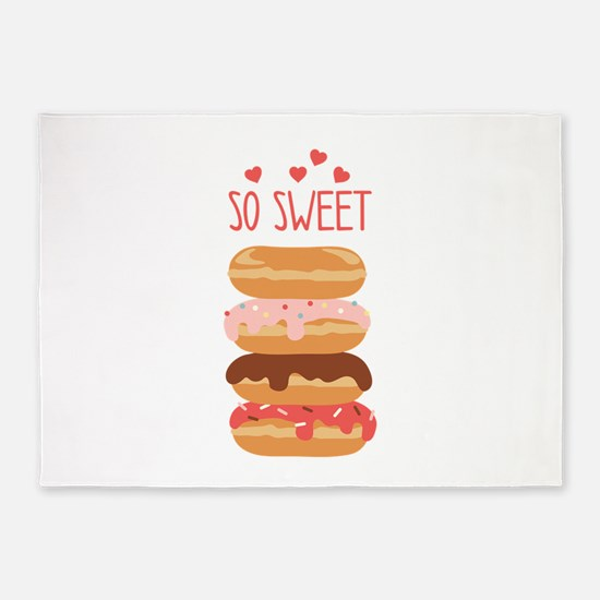 So Sweet Donuts 5'x7'Area Rug