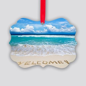 Welcome Summer Ornament