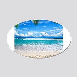 Welcome Summer Wall Decal