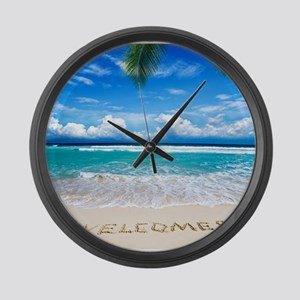 Welcome Summer Large Wall Clock