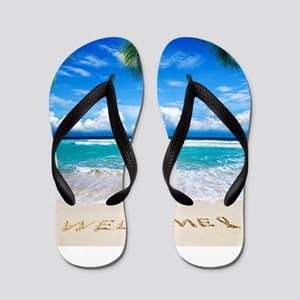 Welcome Summer Flip Flops