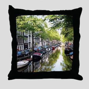 Amsterdam Dawn Throw Pillow