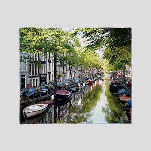 Amsterdam Dawn Throw Blanket