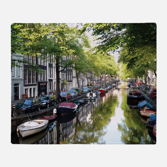 Amsterdam Dawn Throw Blanket
