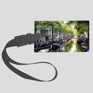Amsterdam Dawn Large Luggage Tag