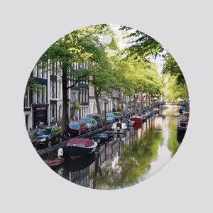 Amsterdam Dawn Round Ornament