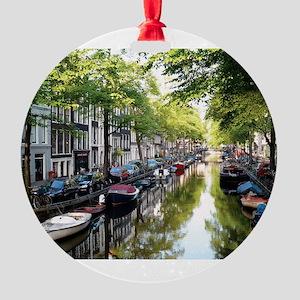 Amsterdam Dawn Round Ornament
