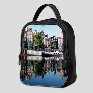 Amsterdam Reflections Neoprene Lunch Bag