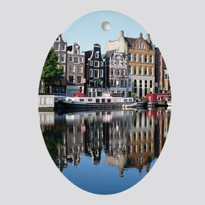 Amsterdam Reflections Oval Ornament