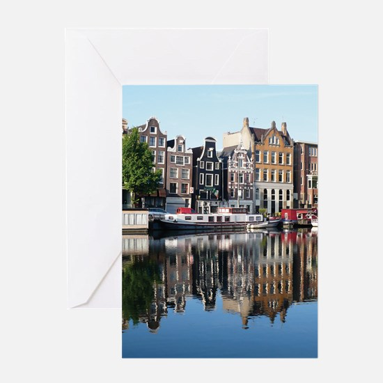 Amsterdam Reflections Greeting Cards