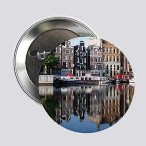 """Amsterdam Reflections 2.25"""" Button"""