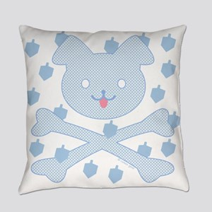 Doggy X-Bones Chanukah Everyday Pillow