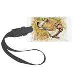 Jack Russell Sketch Luggage Tag