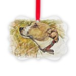 Jack Russell Sketch Ornament