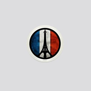 Peace In Paris 2 Mini Button