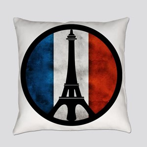 Peace in Paris 2 Everyday Pillow