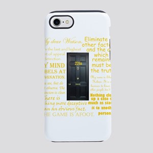 Sherlock Holmes Quotes iPhone 8/7 Tough Case
