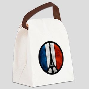 Peace in Paris 2 Canvas Lunch Bag