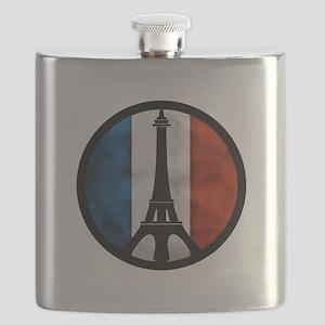 Peace in Paris 2 Flask