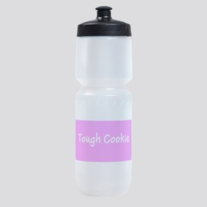 Tough Cookie Breast Cancer Pink for Sports Bottle