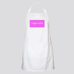Tough Cookie Breast Cancer Pink for Flo Apron