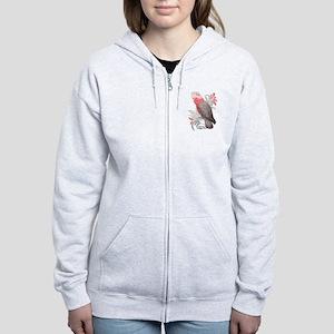 Galah Cockatoo Women's Zip Hoodie