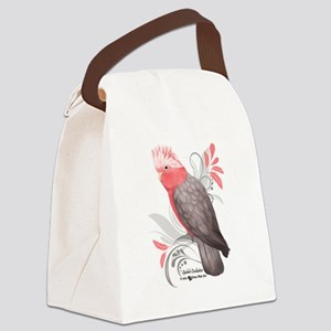 Galah Cockatoo Canvas Lunch Bag