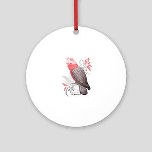 Galah Cockatoo Round Ornament