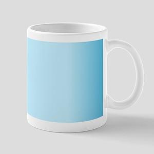 Blue Gradient Mugs