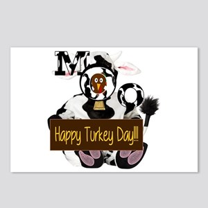 Turkey Day Humor Postcards (Package of 8)