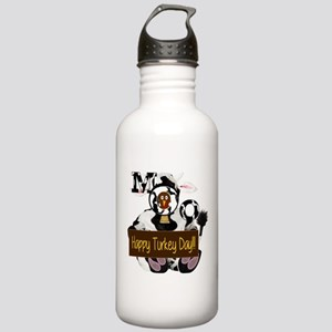 Turkey Day Humor Stainless Water Bottle 1.0L