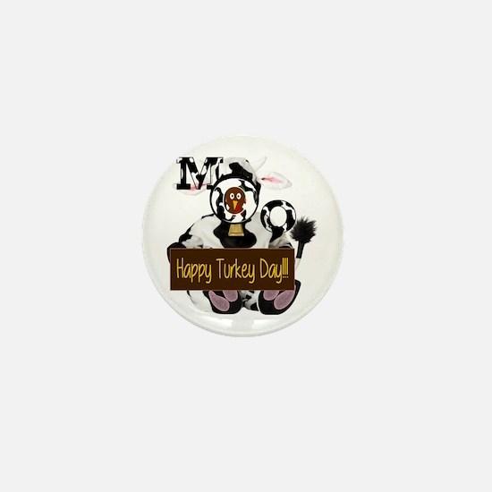 Turkey Day Humor Mini Button (100 pack)