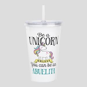 Unicorn ABUELITA Acrylic Double-wall Tumbler